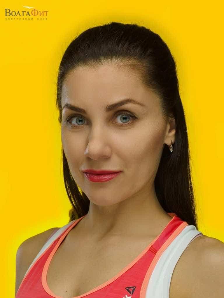 Тренер фитнес-клуба ВолгаФит Дьякова Светлана